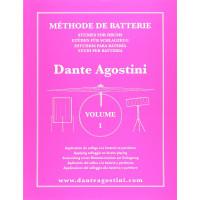 DANTE AGOSTINI METHODE DE BATTERIE VOL.1