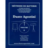 DANTE AGOSTINI METHODE DE BATTERIE VOL.2