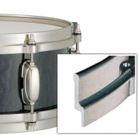 """TAMA MDH14S10H CERCLE MOULE 14""""/10TIRANTS TIMBRE HAIRLINE NICKEL"""