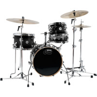 DW DESIGN MINI PRO BEBOP16 4FUTS BLACK SATIN