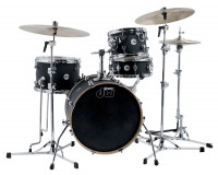 DW DESIGN MINI PRO BEBOP18 4FUTS BLACK SATIN