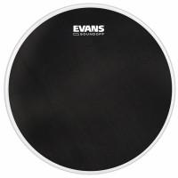 "EVANS SOUNDOFF DRUMHEAD 22"" BASS BLACK"