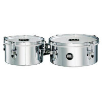 "MEINL MIT810CH MINI TIMBALES 08""/10"" CHROME"
