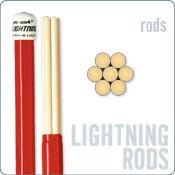 RODS PROMARK LIGHTNING RODS. 7 BRINS. DIAMETRE 1.5 CM