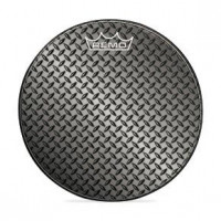 REMO GRAPHIC 22 DIAMOND PLATE - GROSSE CAISSE""