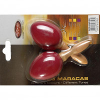 STAGG EGGMASRD MINI MARACAS RED - MANCHE COURT BOIS