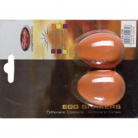 STAGG EGG2OR OEUF STAGG ORANGE - LA PAIRE