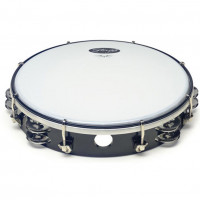 "TAMBOURIN STAGG 12"" - ACCORDABLE - 2 RANGS"