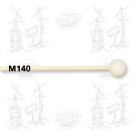 MAILLOCHES VIC FIRTH M140 - ORCHESTRAL BELL - MEDIUM NYLON (X2)