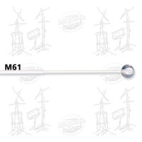 MAILLOCHES VIC FIRTH M61 - MARCHING KEYBOARD - LEXAN (X2)
