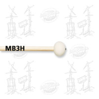 MAILLOCHES VIC FIRTH MB3H POUR GROSSE CAISSE 26/30 (PAIRE)