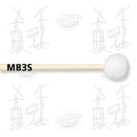 MAILLOCHES VIC FIRTH MB3S POUR GROSSE CAISSE 26/30 (PAIRE)