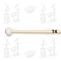 MAILLOCHES VIC FIRTH T4 - AMERICAN CUSTOM ULTRA STACCATO