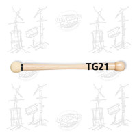 MAILLOCHES VIC FIRTH TG21 - SIGNATURES TOM GAUGER - WOOD/CHAMOIS