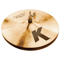 HI-HAT ZILDJIAN 13 K CUSTOM DARK