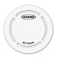 EVANS EQPAF1 - PATCH GROSSE CAISSE SIMPLE FIBRE ARAMIDE (X2)