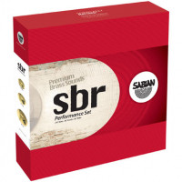 PACK SABIAN SBR PERFORMANCE (H14/C16/R20) + SPLASH 10