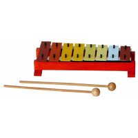GLOCKENSPIEL CLUB SALSA KIDS - G8 MULTICOLOR