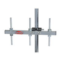 GIBRALTAR GAB12 SUPPORT CLAMP PERCUSSIONS 3 TIGES