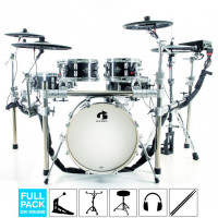 GEWA G9 E-DRUMSET PRO-C5 CARBON FULL PACK