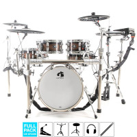 GEWA G9 E-DRUMSET PRO-C5 LACQUER FULL PACK