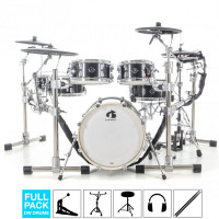 GEWA G9 E-DRUMSET PRO-C6 CARBON FULL PACK