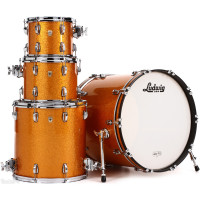 LUDWIG L8424AX33 CLASSIC MAPLE STAGE22 GOLD SPARKLE