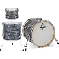GRETSCH RENOWN MAPLE ROCK22 3FUTS SILVER OYSTER PEARL