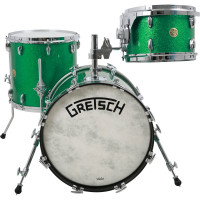 GRETSCH BROADKASTER USA JAZZ18 3FUTS GREEN SPARKLE