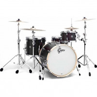 "GRETSCH BROOKLYN 24""/3PCS SATIN BLACK METALLIC"