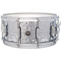 GRETSCH BROOKLYN 14X06.5 HAMMERED CHROME OVER BRASS