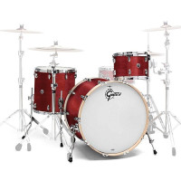 GRETSCH BROOKLYN ROCK22 3FUTS SATIN CHERRY RED
