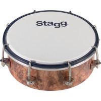 TAMBOURIN STAGG ROND 06 PLASTIQUE ACCORDABLE