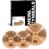 PACK MEINL HCS BRONZE BASIC (14H/18CR)