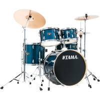"TAMA IMPERIALSTAR 20""/5PCS MCS HAIRLINE BLUE"