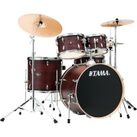 "TAMA IMPERIALSTAR 22""/5PCS MCS BURGUNDY WALNUT WRAP"