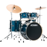 "TAMA IMPERIALSTAR 22""/5PCS MCS HAIRLINE BLUE"