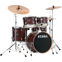"TAMA IMPERIALSTAR 18""/5PCS MCS BURGUNDY WALNUT WRAP"