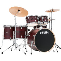 "TAMA IMPERIALSTAR 22""/6PCS MCS BURGUNDY WALNUT WRAP"