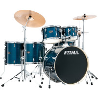 "TAMA IMPERIALSTAR 22""/6PCS MCS HAIRLINE BLUE"