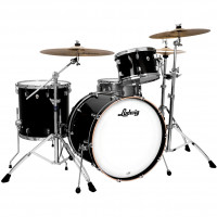 "LUDWIG NEUSONIC 22""/3PCS BLACK CORTEX"