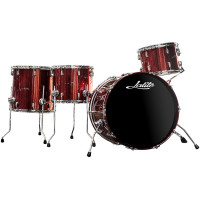 "LALITE LELA ÉRABLE SERIE 22""/4PCS RED SPARKLE"