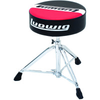 LUDWIG LAP51TH ATLAS ROUND RED/BLACK