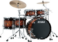 "TAMA STARCLASSIC WALNUT/BIRCH 22""/5PCS MOLTEN BROWN BURST"
