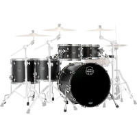 "MAPEX SATURN 22""/5PCS SATIN BLACK"