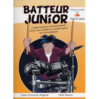 BATTEUR JUNIOR METHODE DÈS 6 ANS