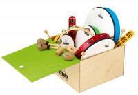 NINO SET012WB PACK 12 PERCUSSIONS BOX