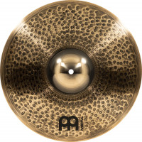 "HI-HAT MEINL PURE ALLOY CUSTOM 15"" MEDIUM THIN"