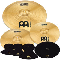 PACK MEINL HCS (H14/C16/R20) + PACK SOURDINES