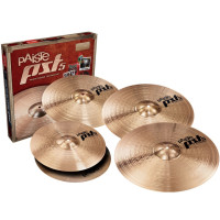 PACK PAISTE PST 5 ROCK (H14/C18/R20) + CRASH 16